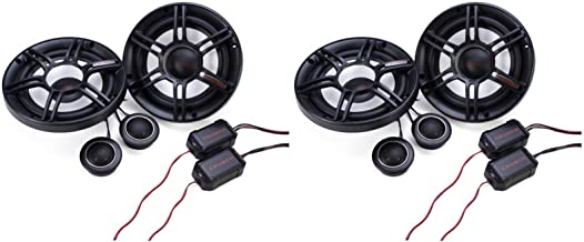 "Crunch 300W Full Range 2 Way 4 Ohm Car Audio 6.5"" Speaker Pair 