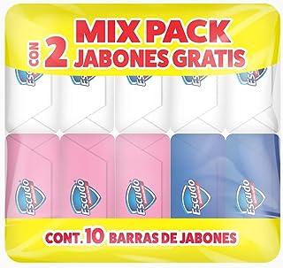 Escudo Jabón En Barra, Mix Pack, 10 Piezas