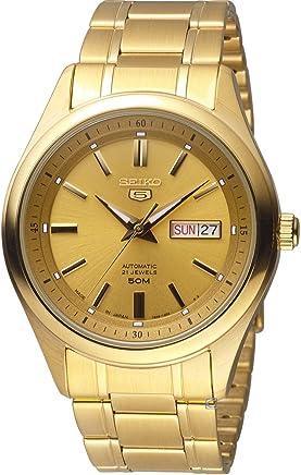 [セイコー] SEIKO 5 自動巻き メンズ 腕時計 SNKN96J1 日本製 《並行輸入品》 (ゴールド)