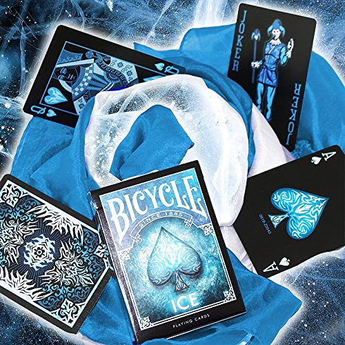 SOLOMAGIA Mazzo di Carte Bicycle - Ice Playing Cards