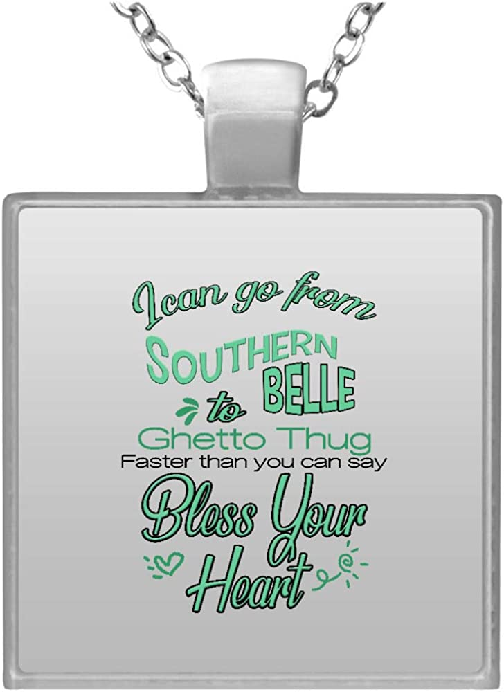 I Can Go From Southern Max 64% OFF Belle Necklace To Square Thug Trust Ghetto