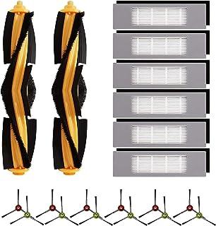 Tashido Ersatzteile für Deebot OZMO T8, T8 Max, T8 AIVI, Roboterstaubsauger ZubehhR BüRstenfilter-Kit