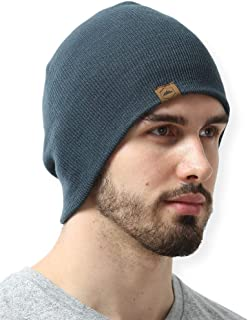 Winter Beanie Knit Hats for Men & Women - Warm, Stretchy & Soft Daily Toboggan Cap - Year Round Comfort - Serious Beanies for Serious Style