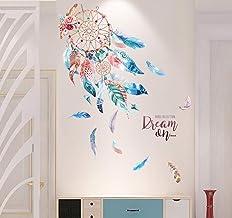 EXQULEG muurstickers, DIY klevende bloemenset, muurstickers bloemen, muurschildering: 150x108 cm, decoratie voor woon- sla...