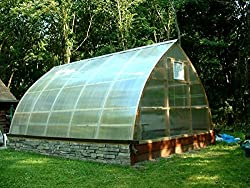 Gothic Arch Greenhouse Kits - GAG-0816CTW