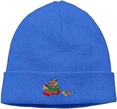 MIOMIOK Turtle Skull Hat Beanie Caps Knit Caps Funny Men Royalblue