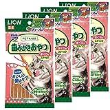 ライオン (LION) ペットキッス (PETKISS) 猫用おやつ ネコちゃんの歯みがきおやつ スティック まぐろ味 4個パック (まとめ買い)