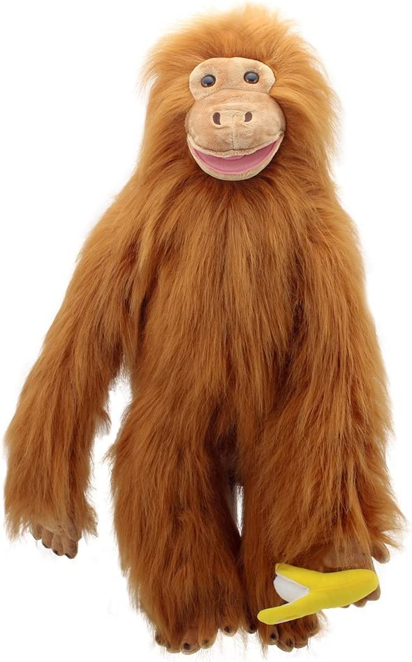 Rare The Puppet Company Large Hand Orangutan Primates Albuquerque Mall