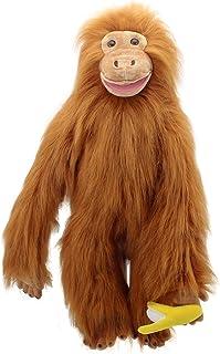 None branded Ventriloque marionnette /à Main Animal marionnette /à Main Jouet Gant Bouche Mobile poup/ée Maternelle Enfants Cadeau Mignon Environ 30 cm Tigre