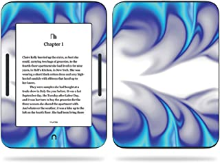 MightySkins Skin Compatible with Barnes & Noble Nook GlowLight 3 (2017) - Blue Fire | Protective, Durable, and Unique Vinyl Decal wrap Cover | Easy to Apply, Remove | Made in The USA