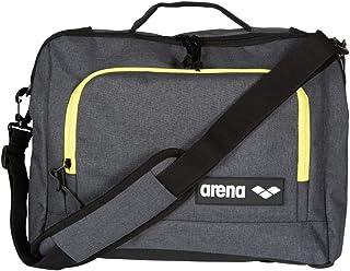 arena Team Coach Briefcase Laptop Shoulder Bag, Grey Melange