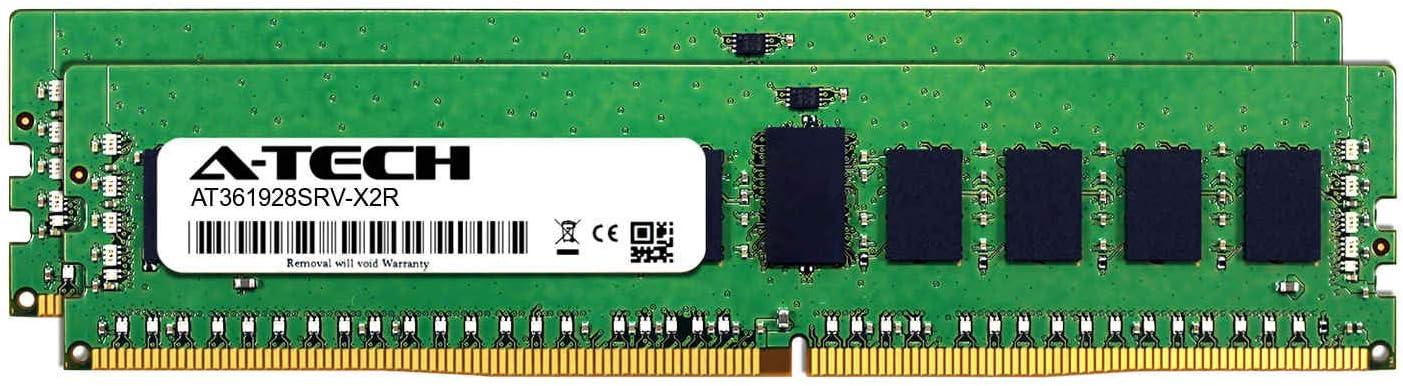 DDR4 PC4-21300 2666Mhz ECC Registered RDIMM 1rx8 Server Memory Ram AT361928SRV-X1R13 A-Tech 8GB Module for Tyan S7103GM2NR