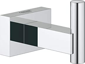 GROHE 40511001 Essentials Cube Robe Hook Starlight Chrome