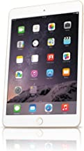 Apple iPad Mini 3 MGYE2LL/A VERSION (16GB, Wi-Fi, Gold) (Renewed)
