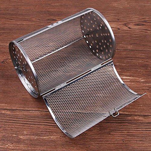 Alician Home Rotisserie Grill Roaster Drum Oven Mand Bakken Geschikt voor Koffiebonen Pindakaas BBQ