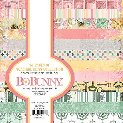 Bo Bunny 7310199 Paper Pad, Multicolor -  American Crafts