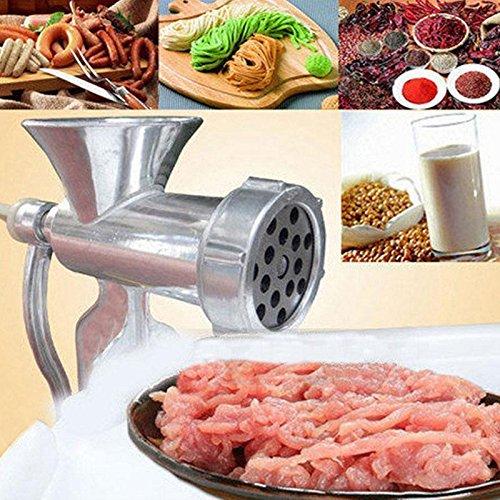mtn gearsmith meat grinders New MTN-G Manual Hand Meat Grinder Beef Sausage Pasta Maker Mincer Table Kitchen Gadget AL