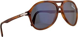 22a49e662990 Persol PO3194S Sunglasses Light Havana w/Light Blue Lens 59mm 105256 PO  3194S PO 3194