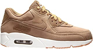 Air Max 90 Ultra 2.0 Leather Running Shoe, Brown, Size 12.0