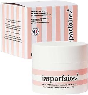 Imparfaite - Crème Hydratante Visage Femme - Soin Visage Booster de Glow - Hydrate et Illumine - 96% d'Ingrédients d'Origi...