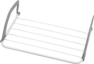 RETYLY Plegable Portatil Rejilla De Secado Colgador De Ropa Balcon De Radiador De Calefaccion De Invierno De Percha De Ropa Gratis Percha 52X16X34.5Cm