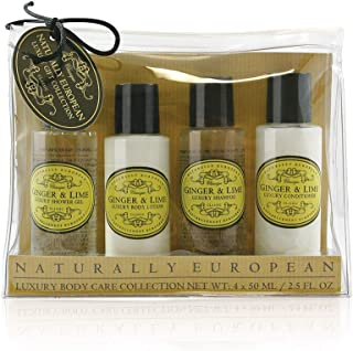 Naturally European Ginger and Lime Travel Set, 200 g