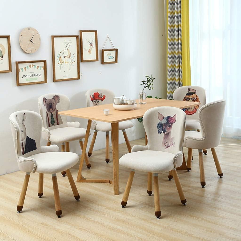 LF Chaise de Salle, Chaise de Bureau Simple, créative Dossier, Chaise Loisirs, Maison Adulte Chaise de Salle Simple (Color : A) A