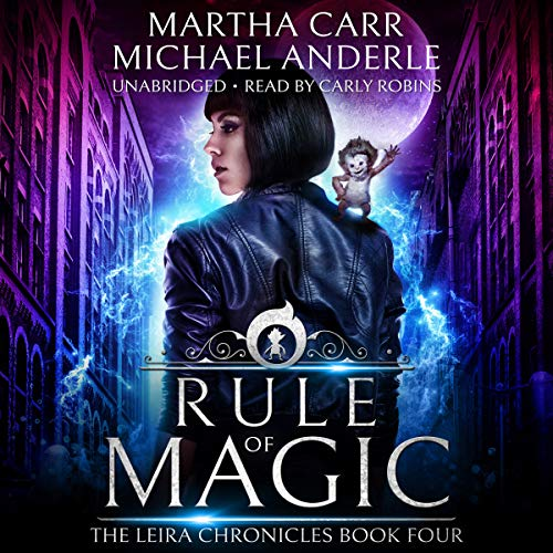 Couverture de Rule of Magic: The Revelations of Oriceran
