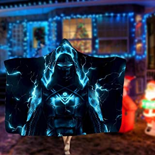 Others Destiny Hunter 3D Hooded Blanket Fleece Warm Hooded Cloak for Adults and Children