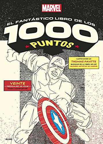 El fantástico libro de los 1000 puntos (Marvel dot to dot)