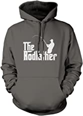 The Rodfather - Fathers Day Dad Father Gift - Hoodie and Sizes