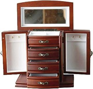 Adesign Boîte de Bijoux Porte-Bijoux Boîte à Bijoux Boîte à tiroir Sunglasses Sunglasses Stockage Boucles d'oreilles Organ...