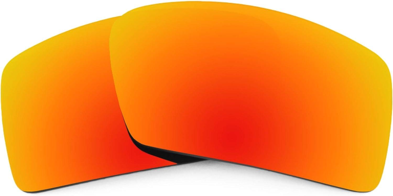 Revant Verres de Rechange pour Oakley Eyepatch 1 - Compatibles avec les Lunettes de Soleil Oakley Eyepatch 1 Rouge Feu Mirrorshield - Polarisés