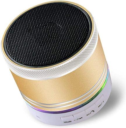 hanxuanzhuanmai Altoparlante Mini Card_4.1 Altoparlante Bluetooth Senza Fili Altoparlante Scheda Portatile Telefono colorato Bluetooth Wireless, Oro - Trova i prezzi più bassi