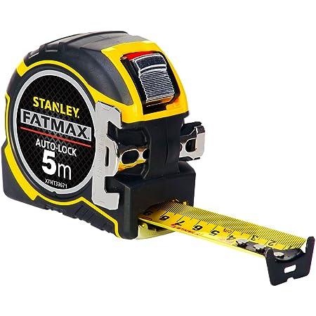 Stanley xtht0-33671 mètre magnétique Auto lock 5x32mm Gamme Fatmax - Large Ruban - Revêtement mylar et Blade Armor - Position du Zéro Réel - Classe Ii - Crochet 3Rivets - Boitier Bi matière