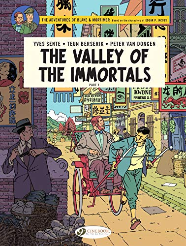 Blake & Mortimer 25 - The Valley of the Immortals (English Edition)