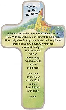 20 x 12 cm Fritz Cox 220400 Kinderkreuz mit Tonengel Schutzengel Mein