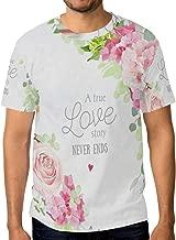 Lovexue Llama Alpaca TShirtsforMenTopTeeCrewNeck Sport T-Shirt
