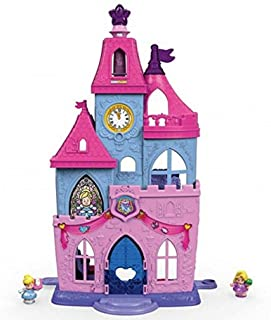 Fisher-Price Little People Disney Princess, Magical Wand Palace Doll