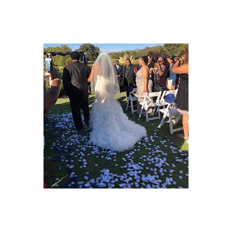 silk flower arrangements neo loons 1000 pcs artificial silk rose petals decoration wedding party color white