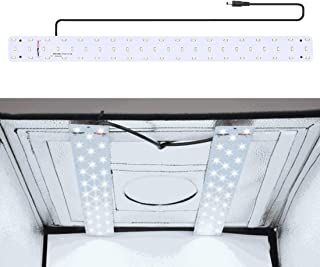 XIAOMIN 30W 1690LM 60 LEDs SMD 5730 5500K Aluminum Base Light Panel for 60cm Studio Tent Premium Material
