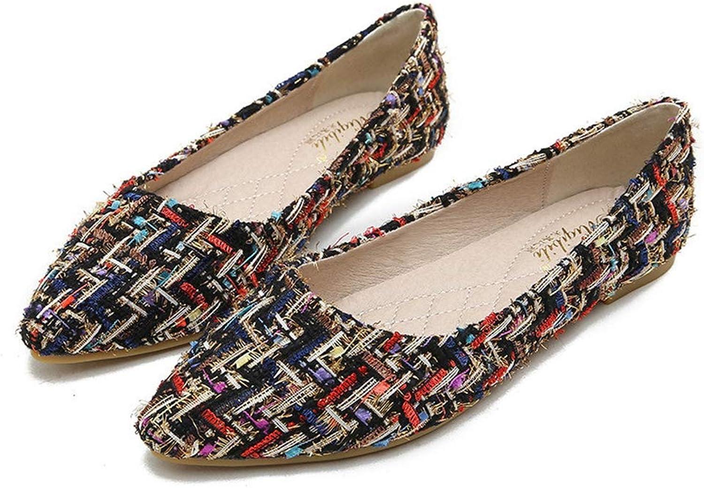 T-JULY shoes Women Loafers Ladies Flat shoes Espadrilles Women Tenis Feminino Casual shoes Footwear