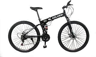 EGO TECHNOLOGY Bicicleta Plegable Rin 29 Ciclismo de Montaña, Deporte. Doble Suspensión