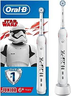 Oral B 80324589 Oral-B Junior Cocuklar İcin Şarj Edilebilir Diş Fırcası Star Wars (6+ Yaş), Beyaz