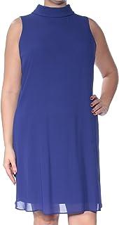 Vince Camuto Womens Sleeveless Mock Turtleneck Cocktail Dress f52b1304f