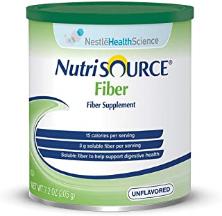 Nutrisource 4390097551 Fiber Powder Supplement, 1 Canister