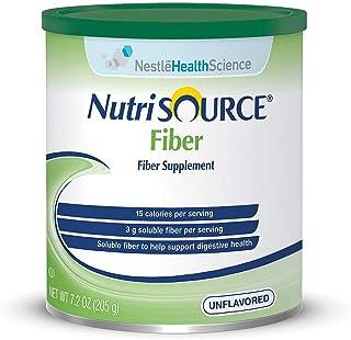 NutriSOURCE Fiber Supplement Powder-Flavor Unflavored Calories 15 / 1 tbsp (4 g) Style Powder Packaging 7.2 oz (205 g) Can...