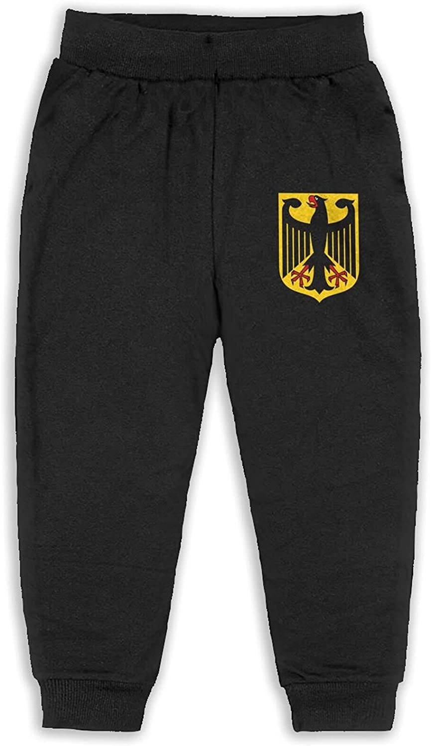 Thtfhe Unisex Kids Germany Coats of Arms Pant Cotton Hip Hop Pants Casual Pants for Girls