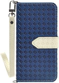 Zenfone Max Pro (M2) ZB631KL ケース F.G.S ケース クリア 保護ケース ハードケース case ストラップ付き スタンド機能 カードホルダ付き Minisuit series Type E シンプル ブルー ホワイト/全5色