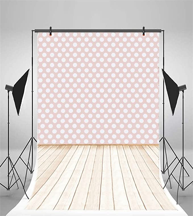 8x12 FT Abstract Vinyl Photography Backdrop,Grunge Modern with Polka Dots Tartan Murky Toned Effects Diagonals Kitsch Pattern Background for Baby Birthday Party Wedding Studio Props Photography